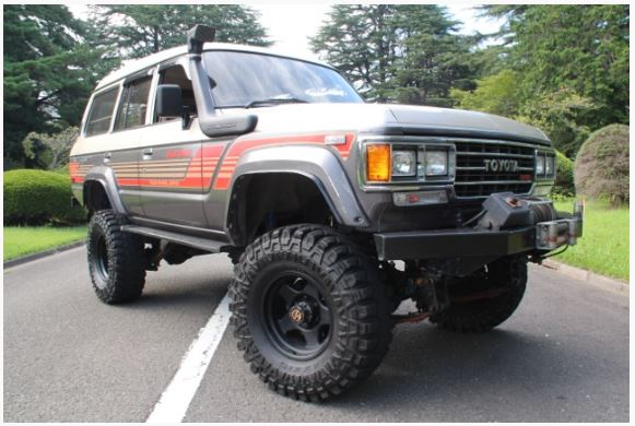 1989 HJ61V Toyota Land Cruiser