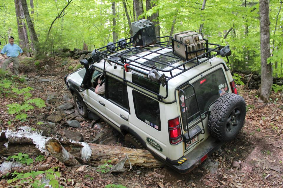 Vermont offers beautiful and challenging terrain - Land Rover Discovery II