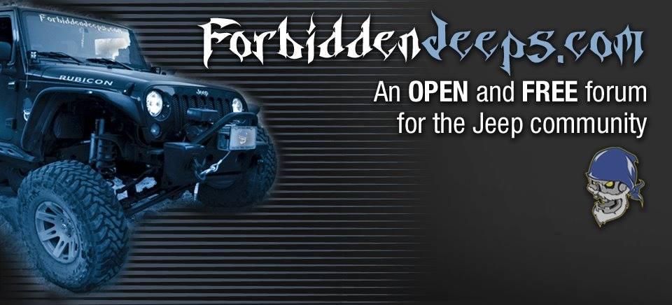 Forbidden Jeeps Banner