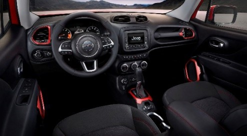 Photo from Jeep Blog.  That is a classy dash that has lots of hidden gems.