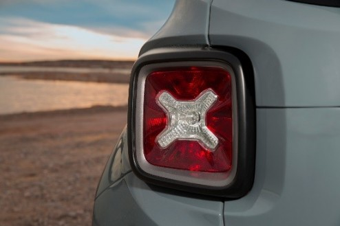 Photo from Jeep Blog. Tail light represents the old fuel cans.