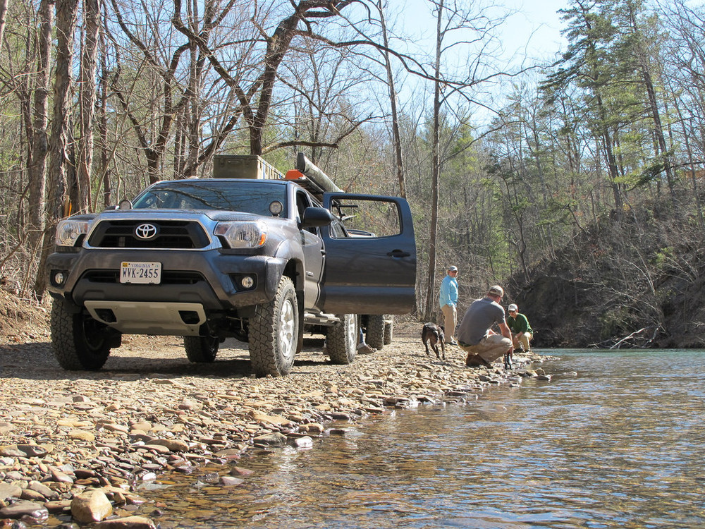 Mountain State Overland on the river