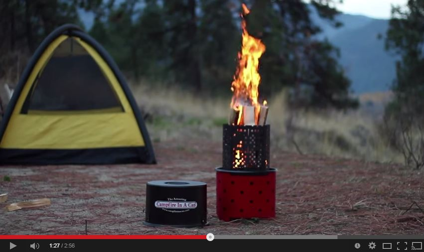 campfire in a can capture