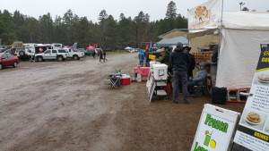 Display area on Friday 2015 Overland Expo