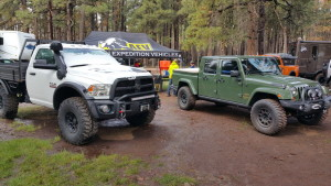 AEV Booth 2015 Overland Expo