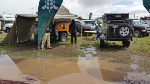 Vendor's booth on Saturday 2015 Overland Expo