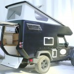 Jeep® ActionCamper© - expedition ready slide-on camper - JK Wrangler Unlimited